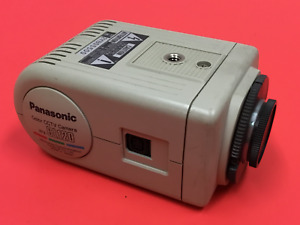 Panasonic Wv cl120 Color Cctv Camera