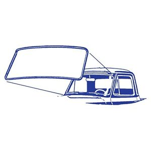 1953 1954 1955 Ford Pickup Ford Truck Windshield Rubber