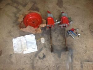 2 Vintage Brookins Balcrank 870 Air Powered Grease Pump Pumps