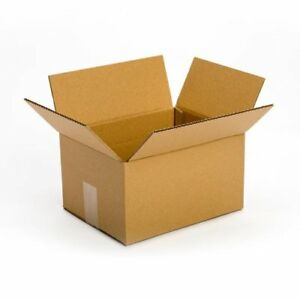 25 Pack 10x8x6 Cardboard Box Packing Ship Mailing Storage Flat Cartons Moving
