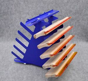 Screen Printing Squeegee Storage Rack 5 Layers Squeegee Shelf Ink Knife Place