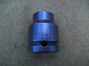 Wright Tools 6822 11 16 3 4 Drive Shallow Impact Socket Usa