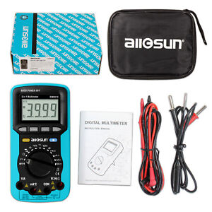 Autorange Digital Multimeter Lcd Power Off 5 In 1 With Backlight Sound Level