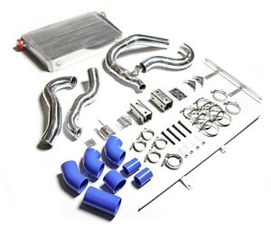 Intercooler Kit And Boost Tubes Boots Clamps 94 97 Ford 7 3l Powerstroke Diesel
