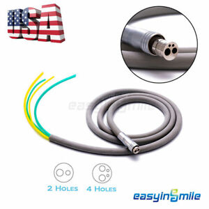 Easyinsmile Dental 2 4 Hole Silicone Tubing Hose For Air Turbine High Handpiece