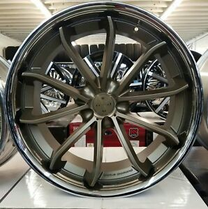 22 Inch Staggerd Bd23 Rims Tires Fit Chrysler 300 Dodge Charger Challanger