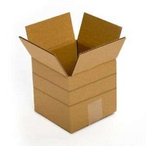 Small Cardboard Delivery Boxes 25 Pack 6x6x6 Packing Shipping Mailing Moving Set