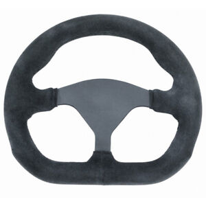 Empi 79 4040 Formula 1 Steering Wheel Black 3 Spoke 10 X 9 D shape Diameter