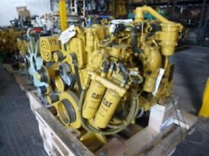 2012 Cat C9 3 Diesel Engine 316 Hp Arr 394 7217 0 Miles Good Running Engine