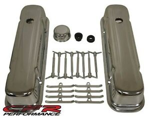 1959 77 Pontiac Bb 326 350 389 400 421 425 455 Chrome Steel Engine Dress Up Kit