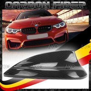 Real Carbon Fiber Antenna Cover For 2014 2018 Bmw F82 M4 Shark Fin Antenna