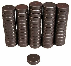 0 75 Round Ceramic Super Strong Disc Magnets Pack Of 500 Magnets Free Shipping