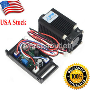 1000mw 1200mw 450nm 445nmblue Laser Module Outer Driver Cnc Cutter Engraving ttl