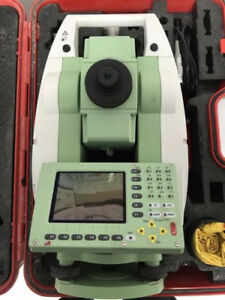 Leica Tcp1201 1 Total Station With Atr ps For Surveying And Machine Control