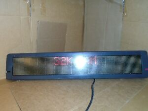 Powers Up Emc 4120c120 48 Inch Tri Color Led Programmable Display Sign