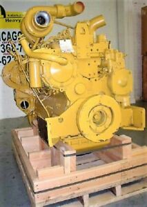 Cat 3306di Used Diesel Engine Low Hour Tested Good Used Diesel Engine