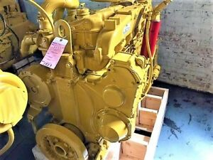 Cat 3406b wjac Marine Diesel Engine S n 7fb Good Used Diesel Engine