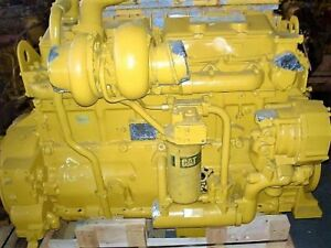 Cat 3406c wjac Diesel Engine Take Out Complete Off Road Application