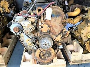 Cat C15 Bxs mxs Diesel Engine Take Outs Complete With Twin Turbo