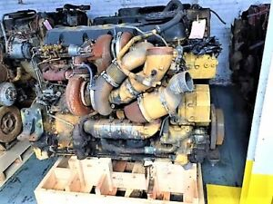 Cat C15 Spd Diesel Engine Take Out Arr 267 4630 Complete With Egr Twin Turbo