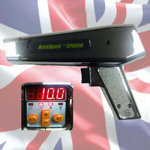 Accuspark Professional Timing Light With Digital Advance And Rev Counter