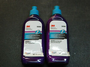 2 3m 36066 Finishing Material 1 2 Pint Bottles Of Perfect it 1 Removes Scratch