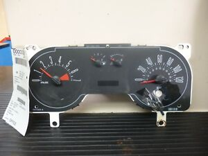 2007 2009 Ford Mustang Speedometer Instrument Cluster 7r33 10849 Ac