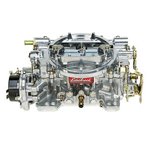 Edelbrock 1406 Carburetor 600 Cfm Performer Electric Choke