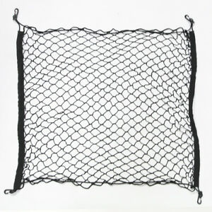 Fit 93 14 Subaru Rear Trunk Cargo Net Double Layer Storage Envelope W Hooks
