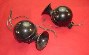 Jaguar Lucas Horns Pair Original Xk120