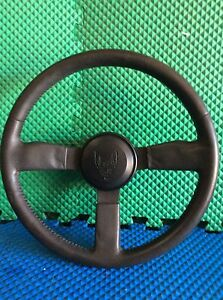 1982 1989 Trans Am Pontiac Firebird Used Steering Wheel Leather
