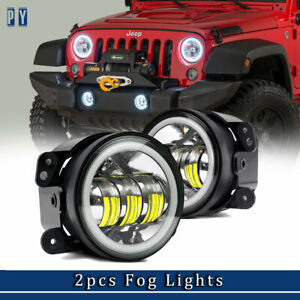 4 Led Fog Lamps Driving Lights Fog Lamps 2011 2012 Jeep Grand Cherokee