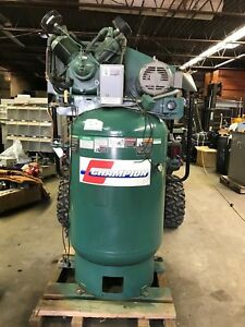 Vr10 12 Champion 10 Hp 120 Gallon Vertical Advantage Series Air Compressor 12