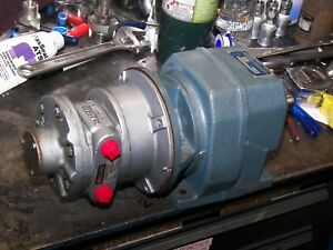 Airmotor Gast 4 Hp And Gearbox reduced