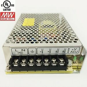 Dc 12v 8a 96w Switching Power Supply Mean Well Driver Adapter Converter Led