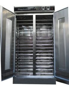 32 Trays Dough Heater Proofer Cabinet With Clear Door Stainless Steel Easy Used
