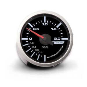 Turbosmart Turbo Boost Gauge 0 2 Bar 52mm Universal For Evo Wrx Sti Mps Xr6