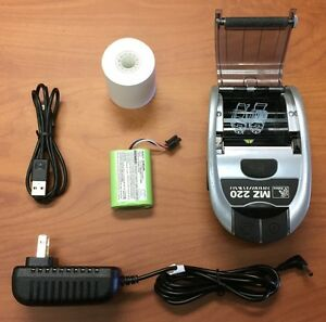 Zebra Bluetooth Printer Mz220 Mz 220 Pos Point Of Sale Thermal Portablelabel