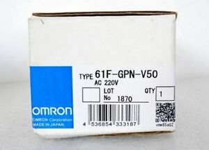 1pc New 61f gpn v50 61f Gpn V50 Omron Water Leak Detector