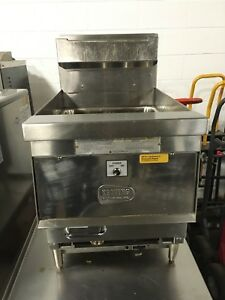 Keating Cmg14 Cm14 Tabletop Natural Gas Deep Fryer Nice