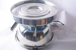 Stainless Steel Electric Chinese Medicine Sieve Vibrating Sieve Machine