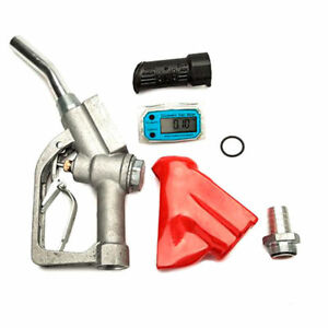 Fuel Gasoline Diesel Petrol Oil Delivery Gun Nozzle Dispenser Bspt 1 0 25mp