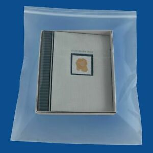18 x24 Clear Reclosable Bag 4 Mil Thick Small Plastic Poly Bags 900 Baggies