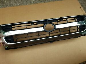 Fits 1997 2000 Toyota Tacoma 2wd Front Bumper Grille Radiator Chrome black New