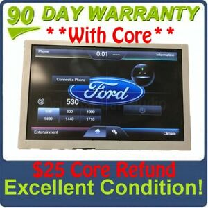 2013 2015 Ford F250 F350 Oem 8 Sync Radio Information Touch Screen Display
