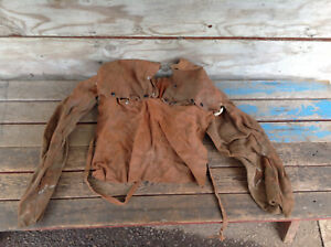 Vintage Welding Cape Sleeves With Bib