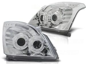 Toyota Land Cruiser 120 2003 2004 2005 2006 2007 2009 Lpto05 Headlights Halo