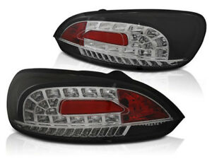 Vw Scirocco Iii 2008 2011 2012 2013 2014 Tail Lights Ldvwi4 Black Led