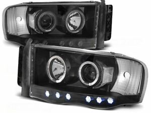 Dodge Ram 1500 2500 3500 Year 2002 2003 2004 2005 2006 Lpdo04 Headlights Halo