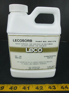 Leco Lecosorb Sodium Hydroxide 20 30 Mesh Part No 502 174 Absorption Skub T